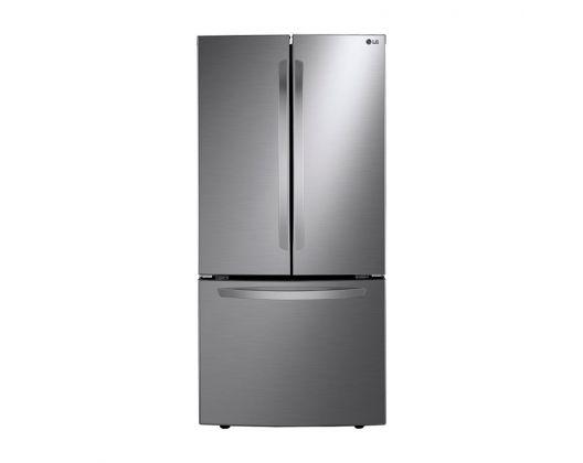 Refrigerador LG 24 Pies Tres Puertas Platino