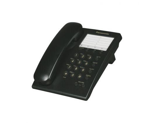 Teléfono Panasonic Alambrico Negro