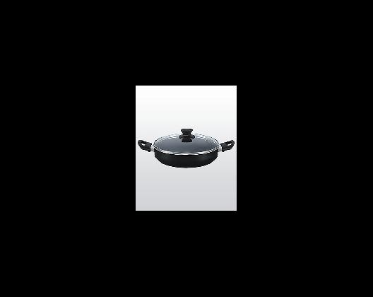 Budinera Tavola 24cm negra